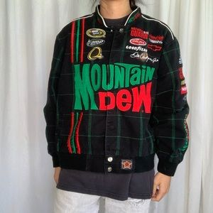Vintage Mountain Dew Racing Jacket